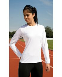 T-Shirts Sport Performance lange mouw, Spiro Dames