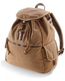 Rugzak Vintage Canvas Backpack
