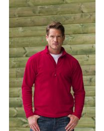 Fleece Trui Russell 1/4 Zip Heren