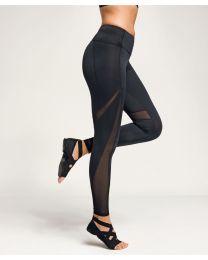 Lange TriDri® mesh tech-legging voor dames.