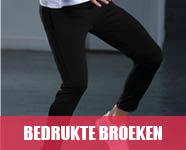 bedrukte broeken